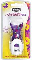 Schick Silk Effect Plus Razor for Women with Vitamin E & Aloe