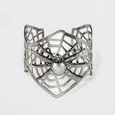 Spider Web Cuff Bracelet - Black