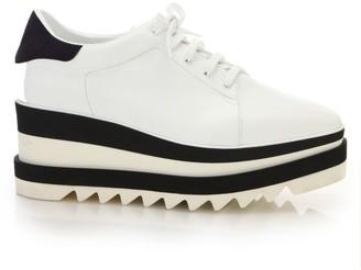 Stella McCartney Sneak-Elyse Platform Wedge Sneakers