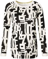 Noppies Pullover is Hanne Aop - Graphic - Large