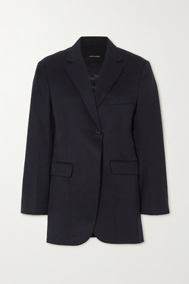 Low Classic Wool-twill Blazer - Navy