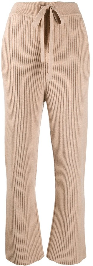 Thumbnail for your product : Dorothee Schumacher High-Waisted Straight Leg Trousers