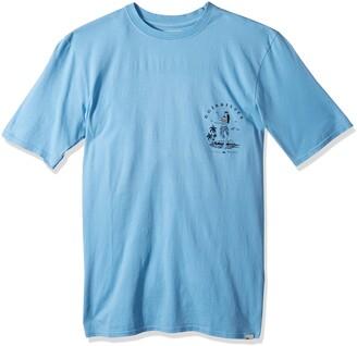 Quiksilver Men's Short Sleeve GMT Dye Curve Love
