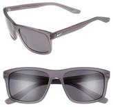 Nike Men's Flow 58Mm Sunglasses - Matte Anthracite