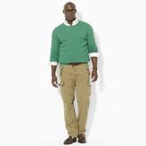 Polo Ralph Lauren Big & Tall Cable Cashmere Crewneck