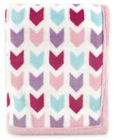 Baby Vision Hudson Baby Chevron Coral Fleece Blanket
