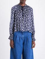 Ulla Johnson Natalia cotton and silk-blend blouse