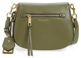 Marc Jacobs Recruit Nomad Pebbled Leather Crossbody Bag - Green
