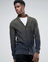 Selected Ombre Shawl Cardigan
