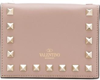 Valentino Rockstud foldover wallet