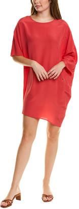 Tsesay Asymmetrical Silk Shift Dress