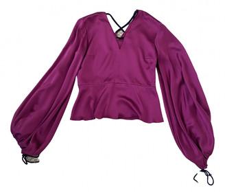 Roksanda Purple Silk Tops