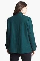 Gallery A-Line Peacoat (Plus Size)