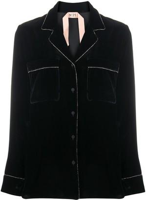No.21 Crystal-Trim Jacket
