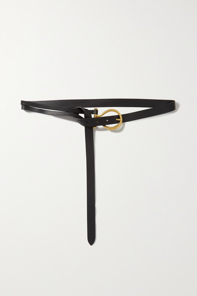Thumbnail for your product : Andersons Leather Belt - Black