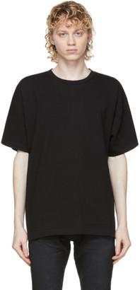 John Elliott Black Classic University T-Shirt