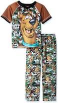 Scooby-Doo Scobby Doo Boys Camo Pajama Set , Kids Size XS(4/5)