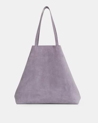 Theory Simple Tote in Suede