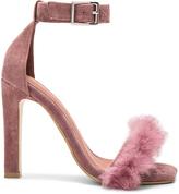 Jeffrey Campbell Obus FT Heels with Rabbit Fur