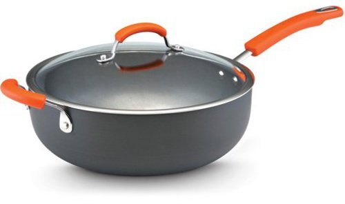 Rachael Ray 6-qt. Nonstick Hard Anodized II Chef's Pan