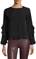 Lucca Couture Serena Ruffle Top