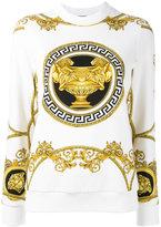 Versace La Coupe des Dieux sweatshirt - women - Cotton - 38