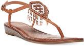 Carlos by Carlos Santana Tonalea Slingback T-Strap Embellished Sandals