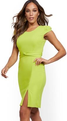 New York & Co. Cap-Sleeve Sheath Dress - Magic Crepe