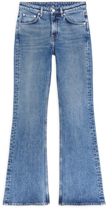 Arket FLARED Stretch Jeans