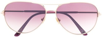 Tom Ford Aviator-Frame Sunglasses