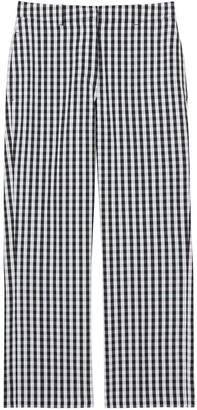 Burberry Gingham Cropped Trousers