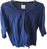 agnès b. Blue Cotton Knitwear for Women