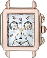 Michele Women's MW06P00L4046 Deco Analog Display Swiss Quartz Two Tone Watch Head