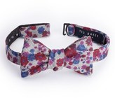 Ted Baker Floral Print Wool Bow Tie