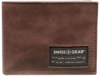 Wenger Swiss RFID Leather Bi-Fold Wallet