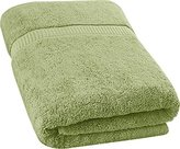 Ringspun Utopia Towels Soft Cotton Machine Washable Extra Large (35-Inch-by-70-Inch) Bath Towel, Sage Green