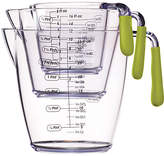 Colourworks Stackable Acrylic Measuring Jugs, Set of 3, Assorted