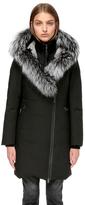 Teena-X Mid Length Lux Winter Down Coat