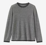 Toast Stripe Linen/Wool Sweater