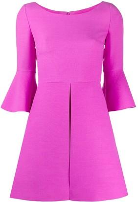Valentino Flared Sleeves Mini Dress