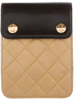 Chanel Quilted Lambskin Clutch