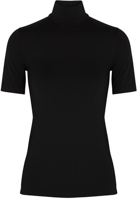 Wolford Aurora Black Jersey Top