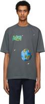 Ader Error ADER error Grey Invasion Day T-Shirt