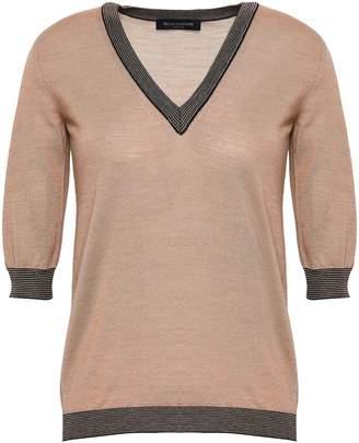 Piazza Sempione Wool And Silk-blend Sweater