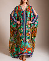 Camilla The Jungle Book Split Front and Sleeve Kaftan