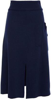 Cédric Charlier Wool Midi Skirt