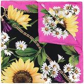 Dolce & Gabbana daisy print scarf - women - Silk - One Size