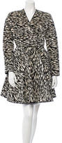 Giambattista Valli Patterned Velvet Coat w/ Tags