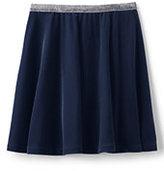 Classic Toddler Velveteen Skirt-Midnight Navy