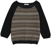 Sessun Wool Jacquard Aponi Pullover